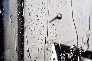 ガラス撥水コート