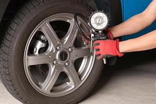 タイヤ空気圧調整
